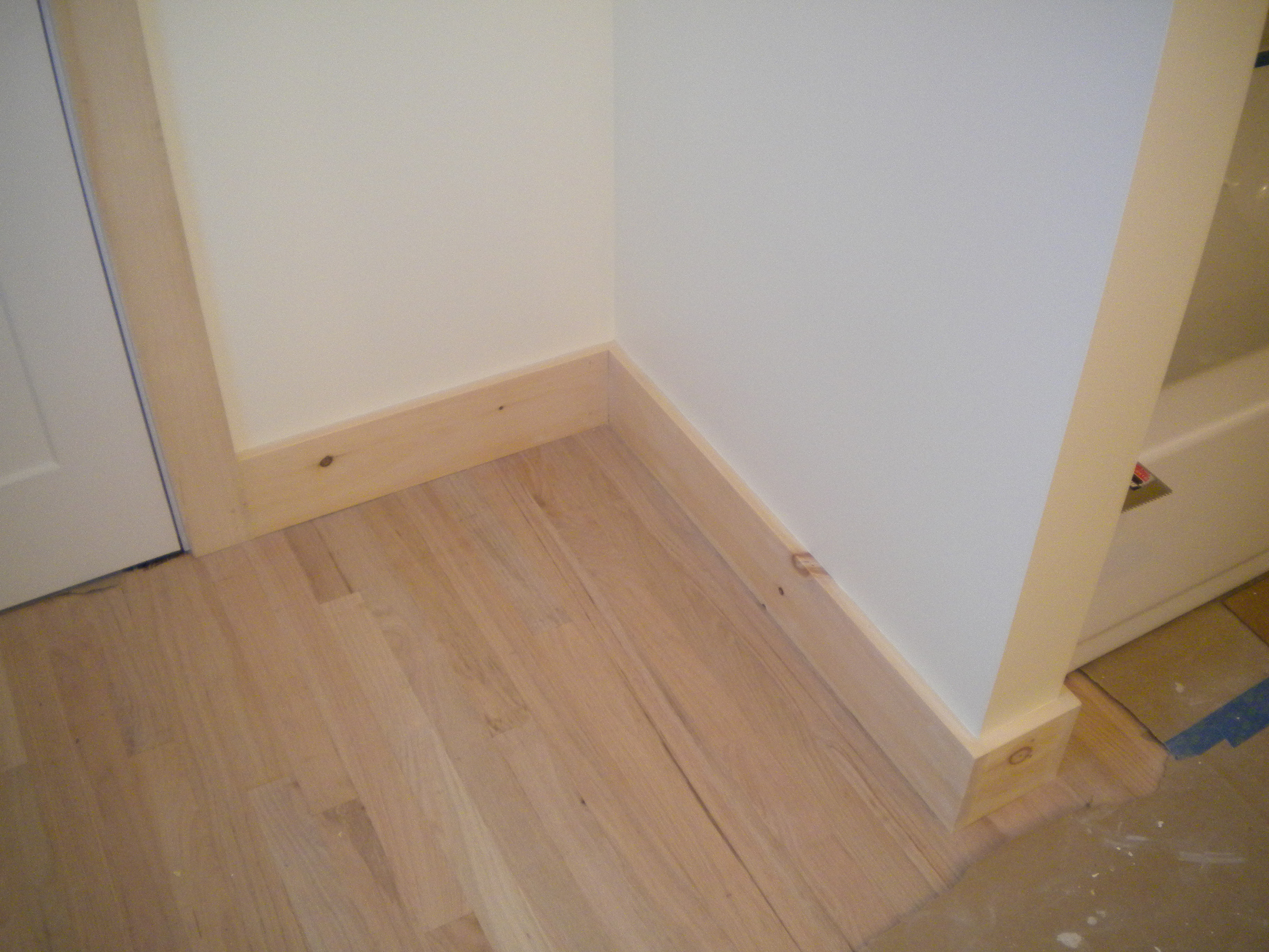 Craftsman style baseboard images for Mission style trim molding